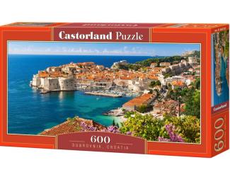 Puzzle 600 dílků - Dubrovník, Chorvatsko