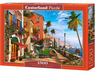 Puzzle 1500 dílků- Terasa u moře