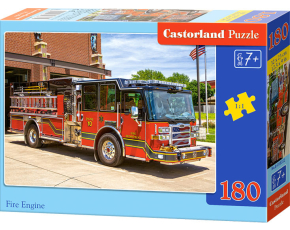 Puzzle Castorland 180 dílků - Hasičské auto