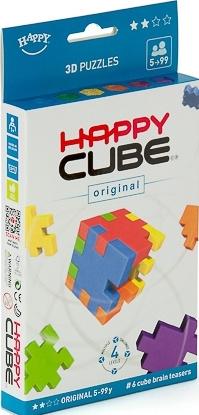 Hlavolamy 6 ks v krabičce, obtížnost 5+ let (Happy Cube)