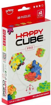 Hlavolamy Happy cube PRO 6 ks v krabičce, obtížnost 7+ let (Profi Cube)