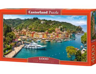 Puzzle 4000 dílků - Výhled na přístav