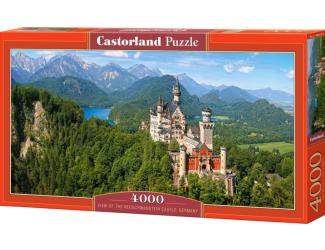 Puzzle 4000 dílků - Neuschwanstein, Německo