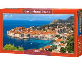 Puzzle Castorland 4000 dílků - Dubrovnik, Chorvatsko