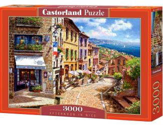 Puzzle 3000 dílků- Odpoledne v Nice ve Francii