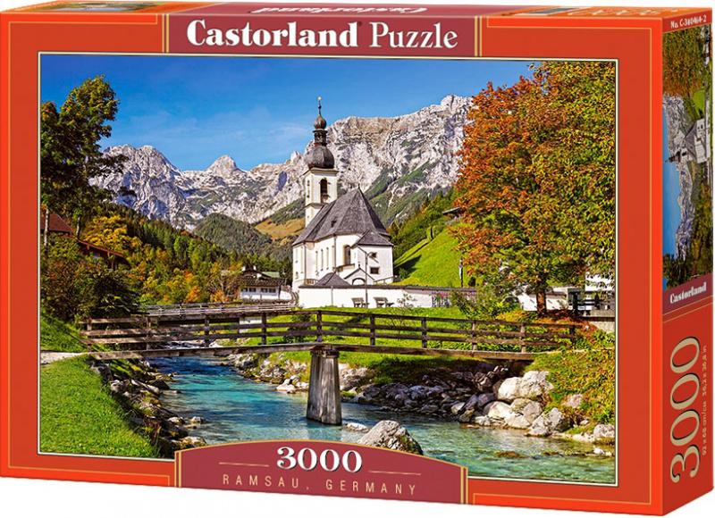 Puzzle Castorland 3000 dílků - Ramsau, Německo
