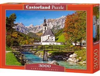 Puzzle 3000 dílků- Ramsau, Německo