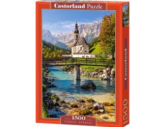 Puzzle 1500 dílků- Ramsau, Německo