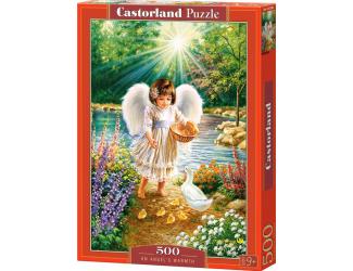 Puzzle Castorland 500 dílků - Andělské teplo