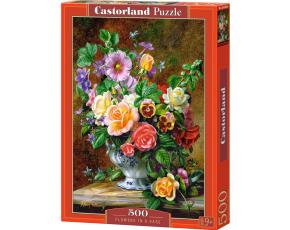 Puzzle Castorland 500 dílků - Váza květin
