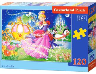 Puzzle Castorland 120 dílků - Popelka 2018