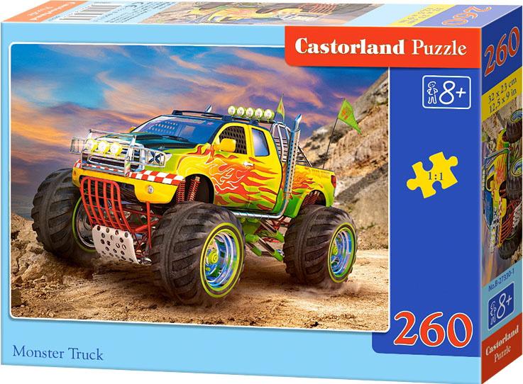 Puzzle Castorland 260 dílků - Monster Truck