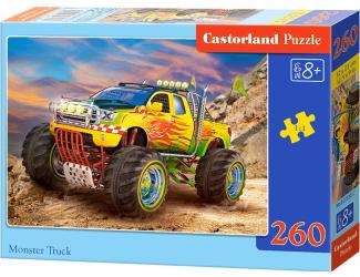 Puzzle 260 dílků- Monster Truck
