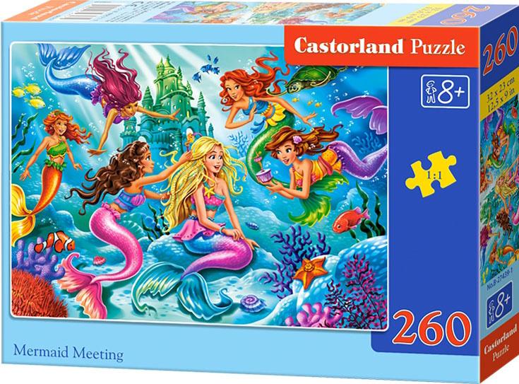 Puzzle Castorland 260 dílků - Sešlost mořských víl
