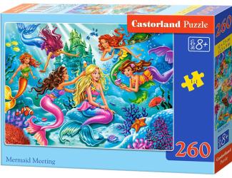 Puzzle 260 dílků- Sešlost mořských víl