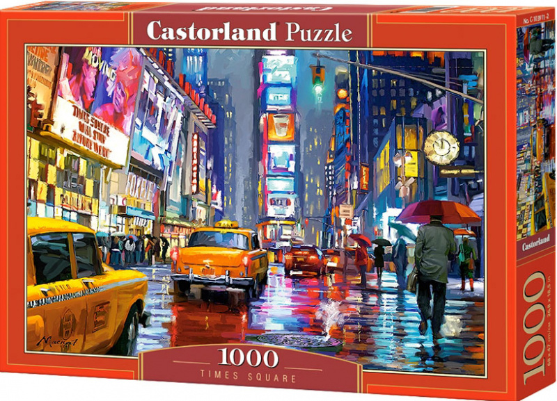 Puzzle Castorland 1000 dílků - Time Square