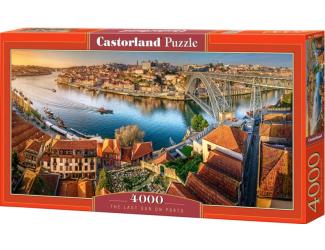 Puzzle Castorland 4000 dílků - Západ slunce v Portu