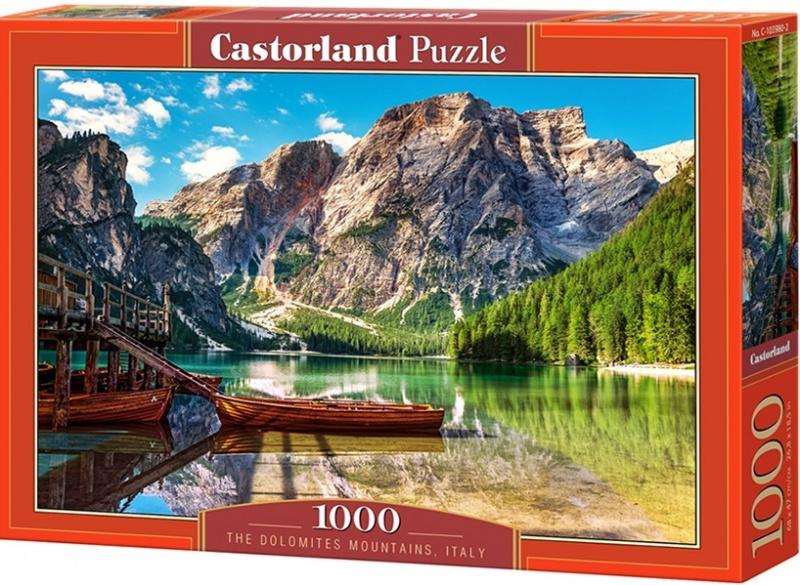 Puzzle Castorland 1000 dílků - Dolomity, Itálie