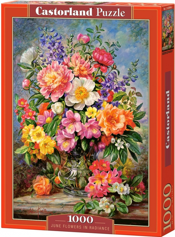 Puzzle Castorland 1000 dílků - Jarní květiny