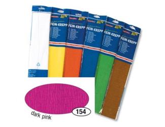 Krepový papír- Růžový tmavý 50cm x 2,5m