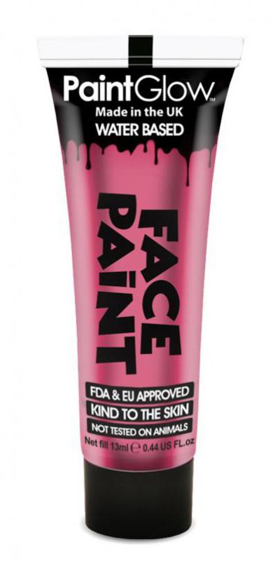 """Barva na obličej 13 ml - růžová """"Bright Pink"""""""