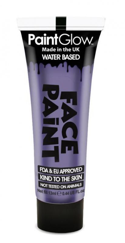 """Barva na obličej 13 ml - fialová """"Purple"""""""
