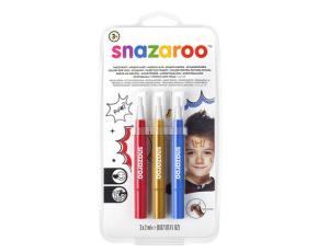 """Štětce """"brush pen"""" naplněné barvou na obličej - dobrodružství"""