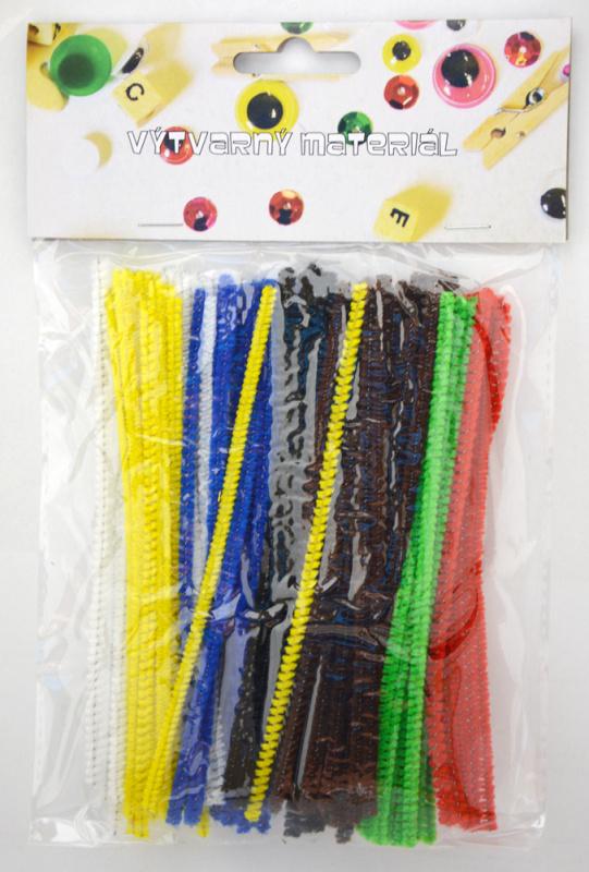Chlupaté drátky 100ks, 3mm x 15cm