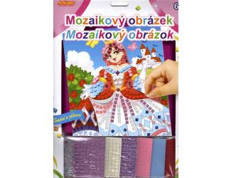 Mozaikový obrázek - Popelka