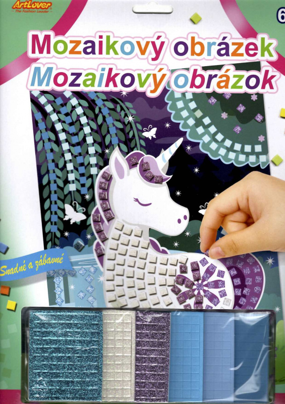Mozaikový obrázek - Unicorn