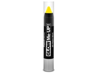 Tužka na obličej UV neon 3,5 g žlutá (yellow)