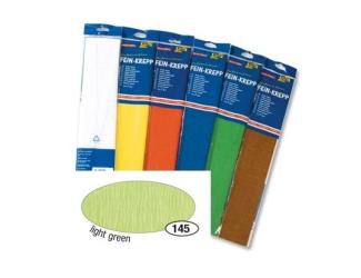 Krepový papír- Zelený světlý 50cm x 2,5m