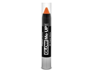 Tužka na obličej UV neon 3,5 g oranžová (orange)