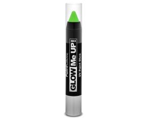 Tužka na obličej UV neon 3,5 g zelená (green)