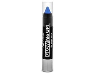 Tužka na obličej UV neon 3,5 g modrá (blue)