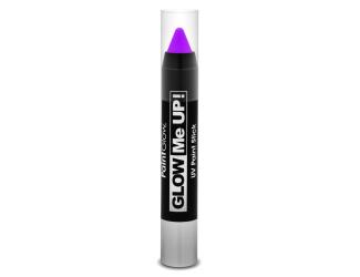 Tužka na obličej UV neon 3,5 g fialová (purple)