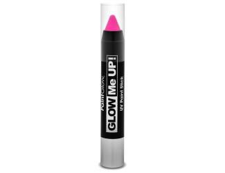 Tužka na obličej UV neon 3,5 g růžová (pink)