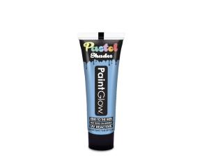Barvy na obličej UV pastelové 13 ml - modrá (pastel blue)