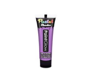 Barvy na obličej UV pastelové 13 ml - fialová (pastel lilac)