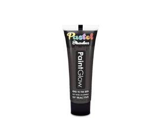 Barvy na obličej UV pastelové 13 ml - černá (pastel black)