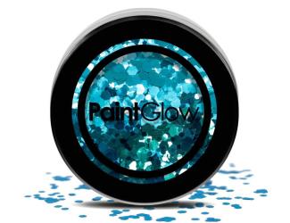 Třpytky Chunky 3g modré (kaleidoscope)