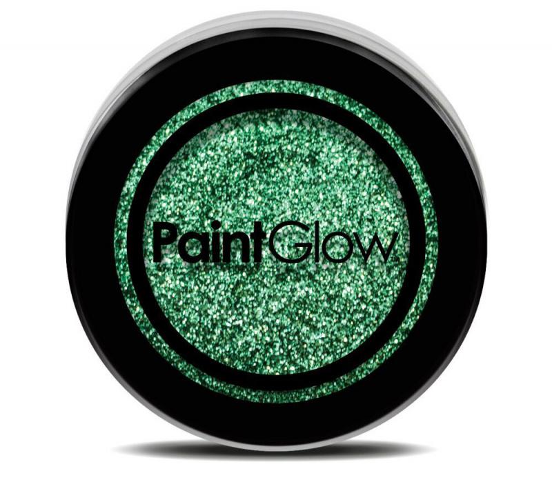 Třpytky základní barvy 3g - zelená (green)