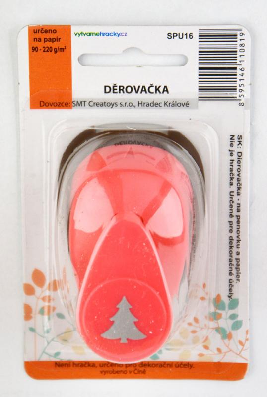 Děrovačka 16 mm - Vánoční strom