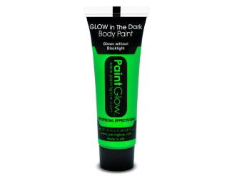 """Barvy na obličej - svítící ve tmě - 13 ml zelená """"green"""""""
