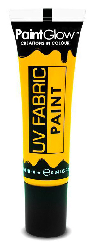 Barvy na textil UV neon 13 ml - žlutá (Neon Yellow)