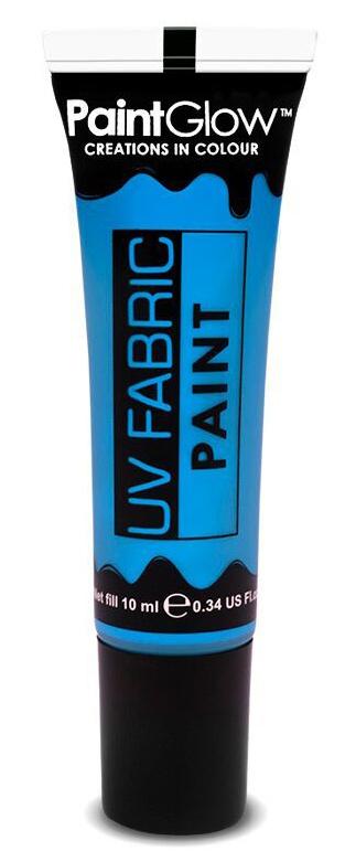 Barvy na textil UV neon 13 ml - modrá (Neon blue)