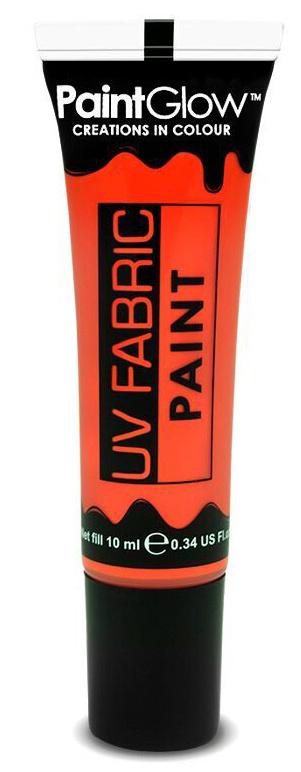 Barvy na textil UV neon 13 ml - oranžová (Neon orange)