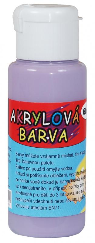Akrylová barva 60ml - kobaltově fialová (cobalt violet)
