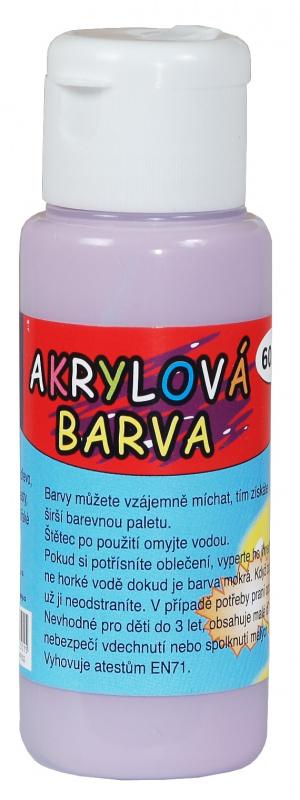 Akrylová barva 60ml - lila (lilac)