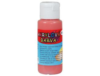 Akrylová barva 60ml - rumělková (vermillion)